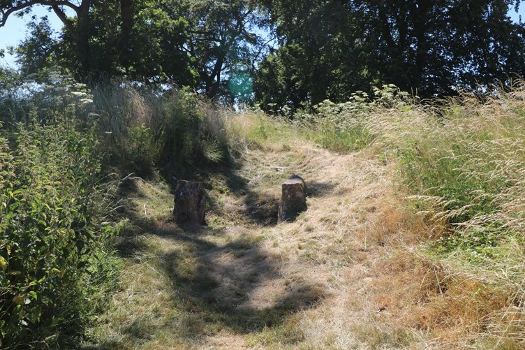 The Entrance to the Long Barrow