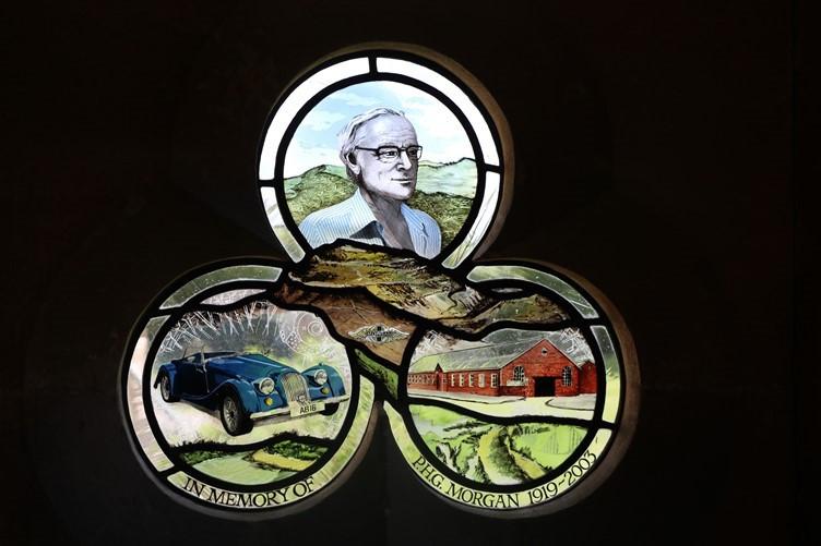 The Morgan Window at Stoke Lacy Church