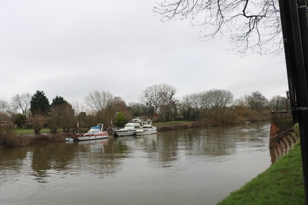 The River Severn at Upton