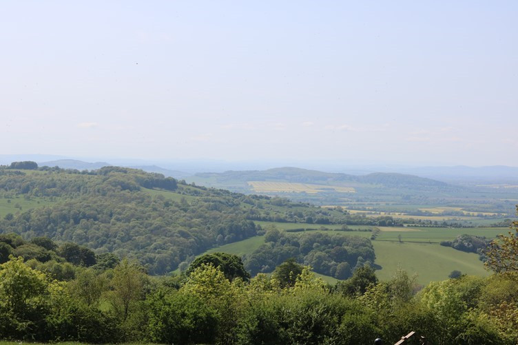 The Views across the Cotswolds