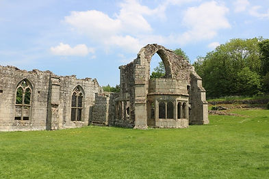 Hide and Seek at Haughmond Abbey
