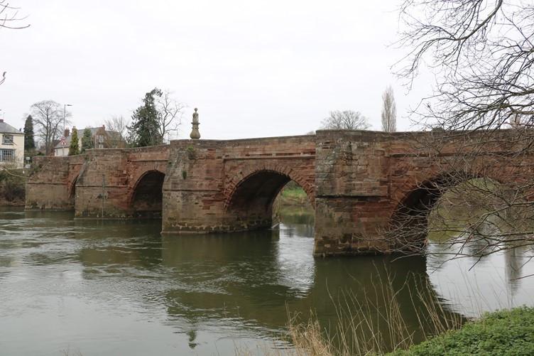 Wilton Bridge near Ross-on-Wye