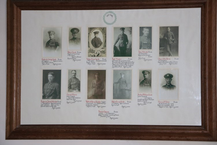 Great Rissington's Great War Roll of Honour