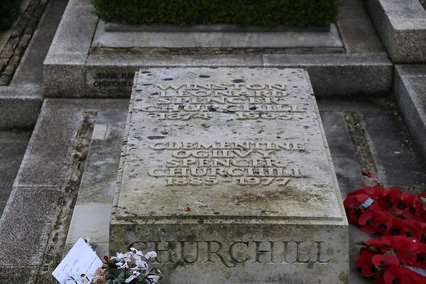 Churchill Grave Bladon