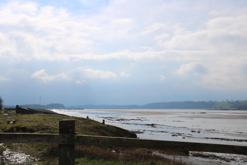 On the Banks of the River Severn - the old hulks holding back the sands of time