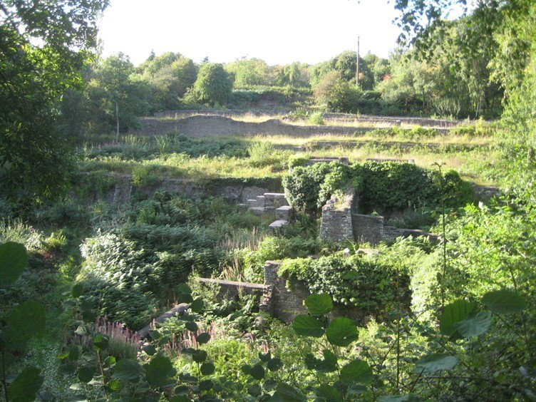 The remains of the Dark Hill Iron Works
