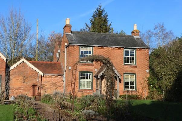 The Little Brick House of Edward Elgar at Lower Broadheath