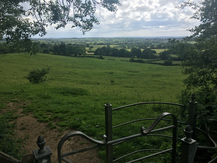 The Views From the Cotswolds Escarpment