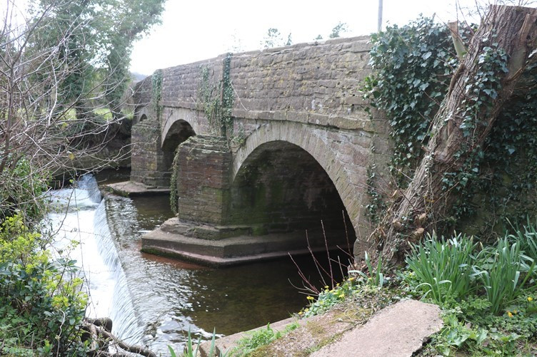 The Bridge Over the River Dore at Vowchurch