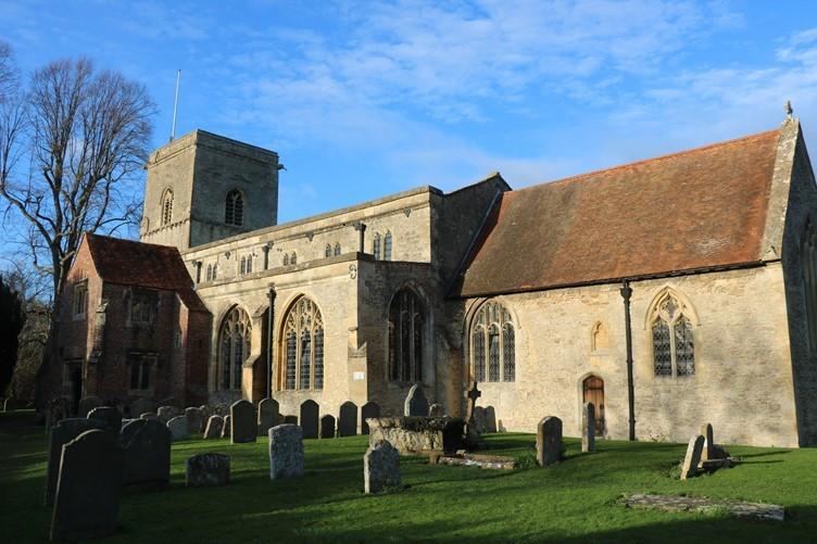 Sutton Courtenay Church