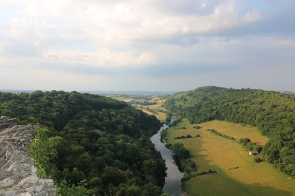 The Viewpoint from Yat Rock