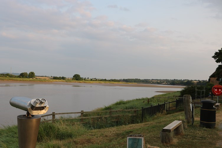 Overlooking the River Severn