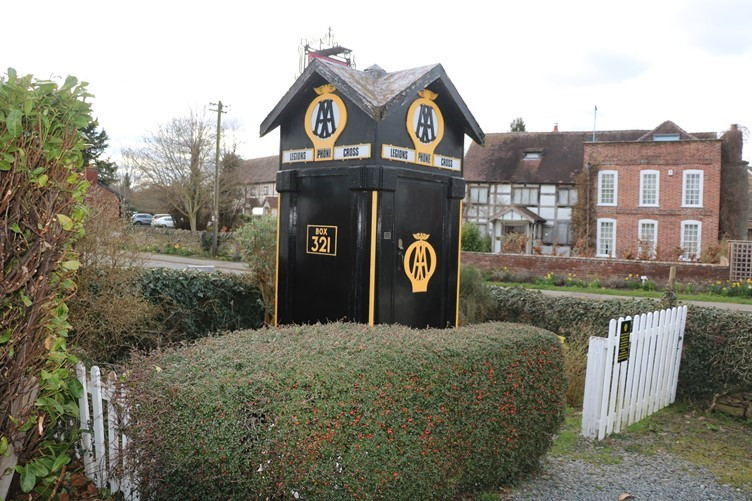 The iconic old AA Box