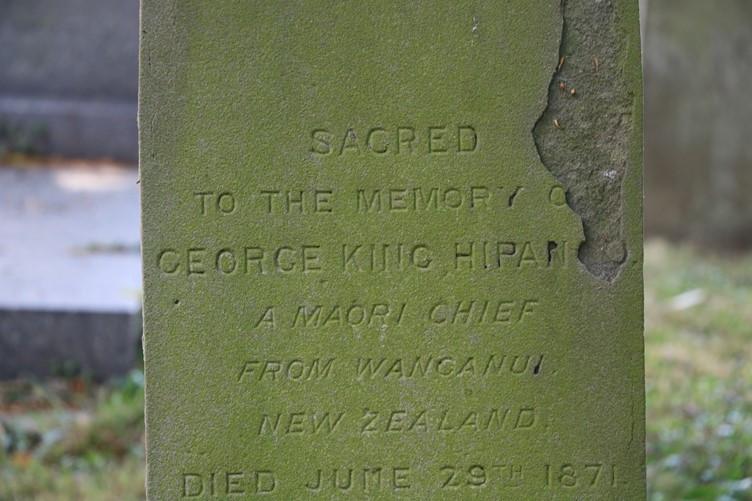 His name was Hori Kingi Te Moana Hipango