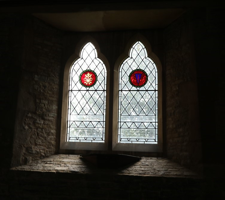 Peter Young Memorial Stained Glass Window