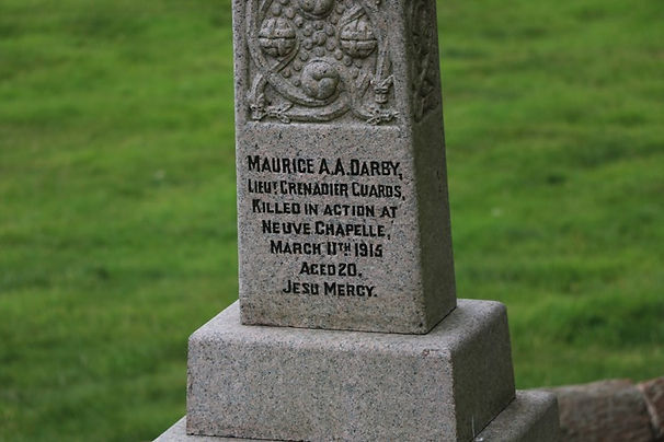 Maurice Darby - One of the Few Brought Home From the Great War