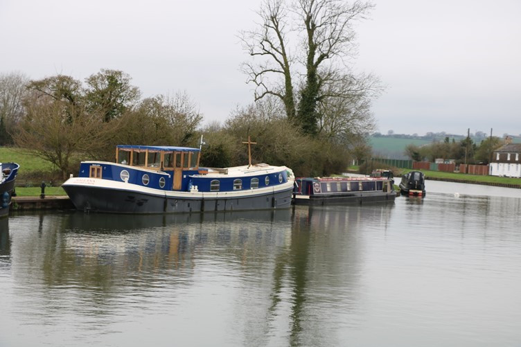 Canal Boats on the Canal