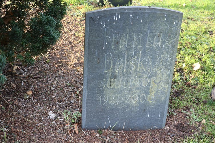 The Headstone of Franta Belsky