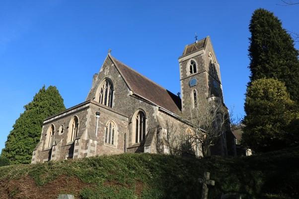 The Church at West Malvern