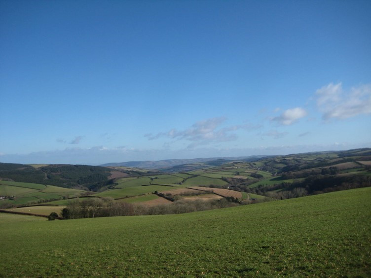 A View Across To Exmoor