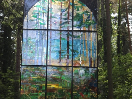 Boxing Day Walk – the Sculpture Trail in the Forest of Dean