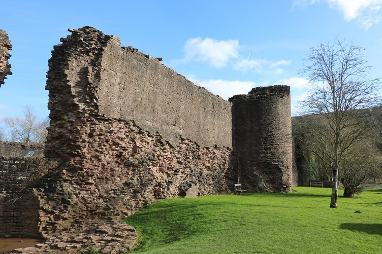 The monster wall of the Castle
