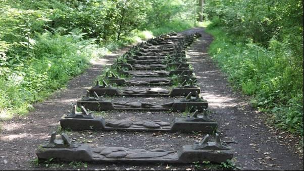 The Railway Tracks Near the White Gates