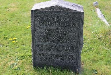 Vernon Louis Parrington - A Pulitzer Tourist at Winchcombe