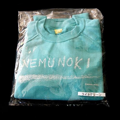 NEMUNOKIトレーナー(色:ライトグリーン)