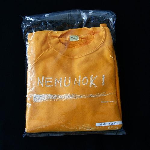 NEMUNOKIトレーナー(色:ポパイイエロー)
