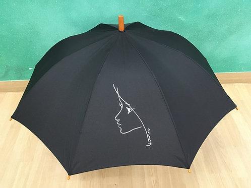 ねむの木学園オリジナル傘-まり子 / 黒