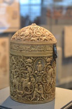 The Pyxis of al-Mughira, Louvre 2012
