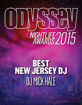 Best NJ DJ Mick Hale -- Odyssey Magazine NYC