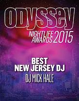 Best NJ DJ Mick Hale -- Odyssey Magazine NYC