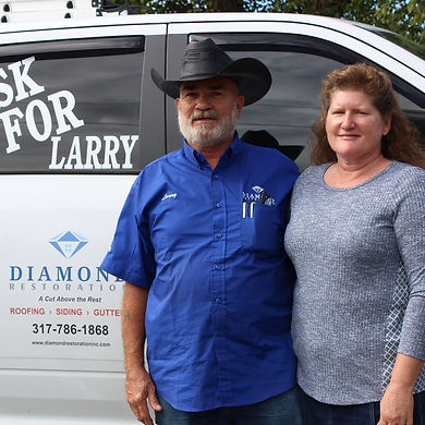Larry Mahurinand his wife Katherine Mahurin
