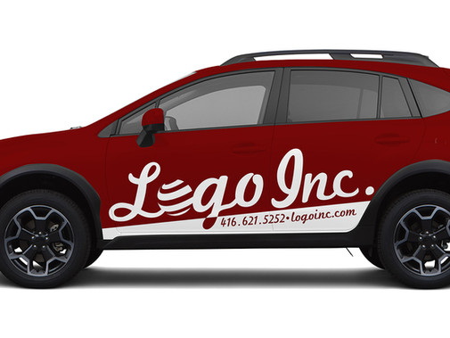 How Car Decals can Offset the Cost of your New Company Car.