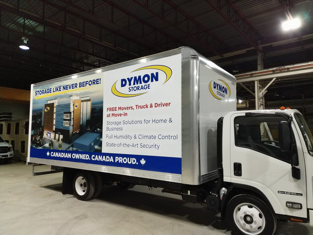 Printed Full Box Truck Wrap