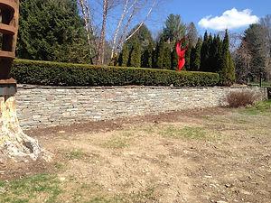 retaining wall gilbertsville ny