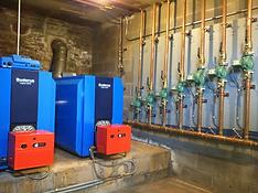 New boiler installation