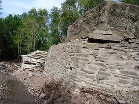 retaining wall morris ny