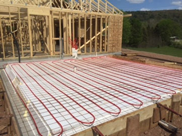 Radiant Heating Installation