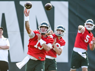 Predicting the Spartans' Week 1 Starters (including seven open position battles)