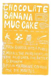 chocolate banana mug cake - currents.jpg
