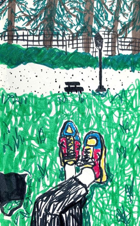 parque del oeste sketch (marker).JPG