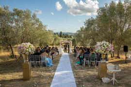 Villa di Maiano Ceremony in the olive groves