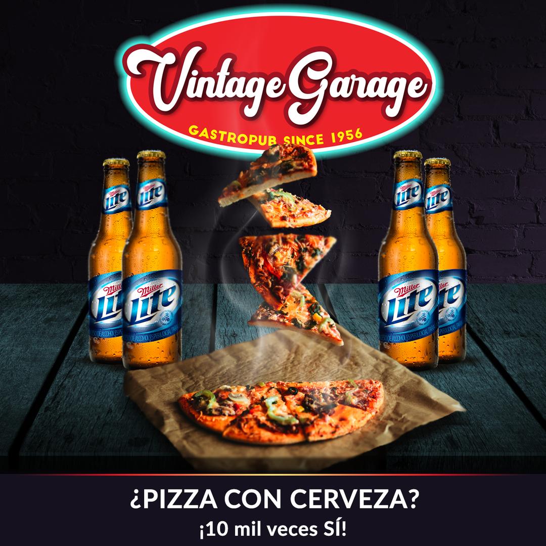 Promo Pizza + Cerveza