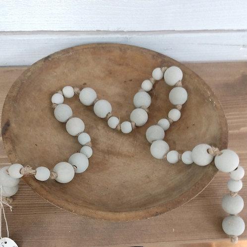 Decorative Gray Beads