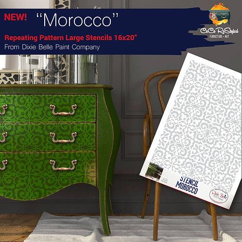 """Stencil """"Morocco"""""""