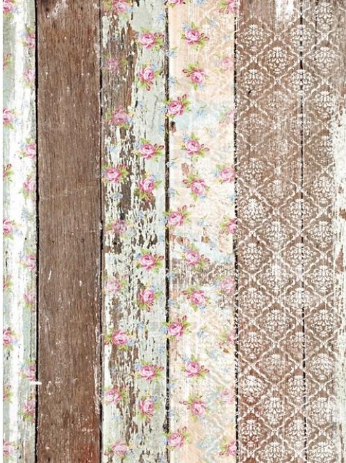 Pallet Wood Pattern decoupage paper