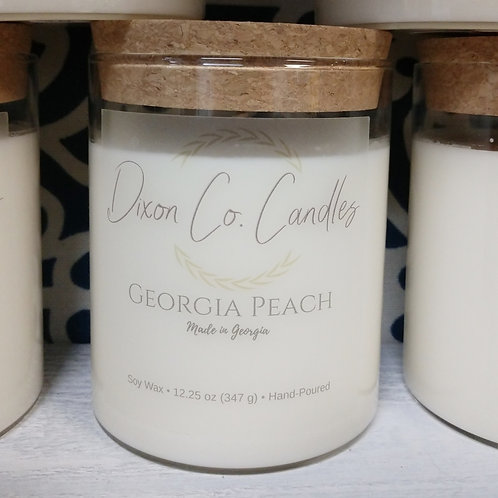 Dixon Co. Candle Georgia Peach